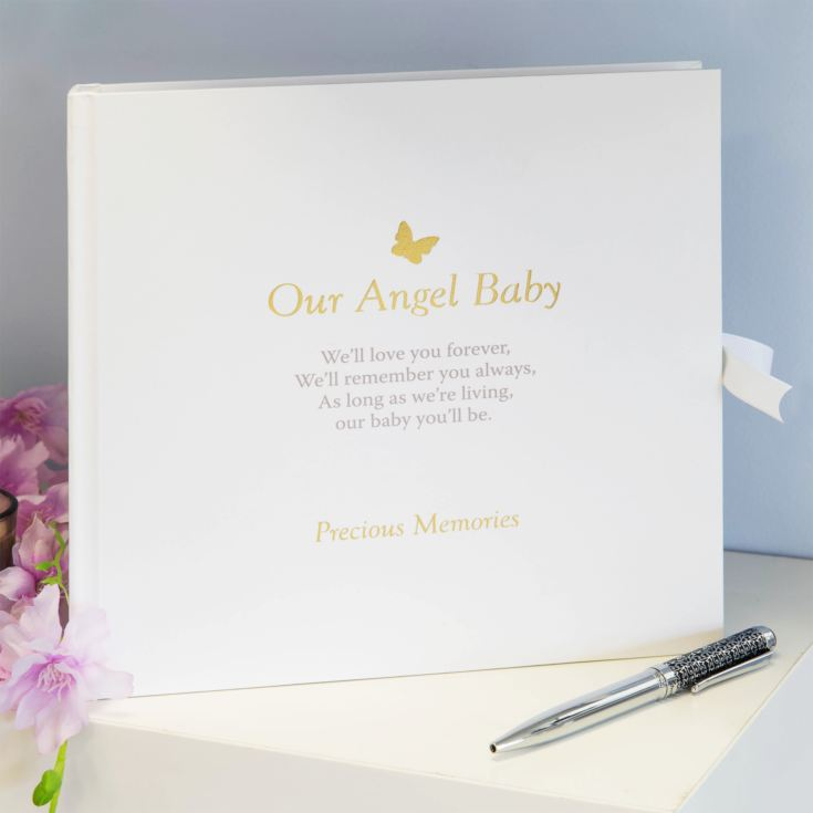 Thoughts of You Memorial Scrapbook - Our Angel Baby product image
