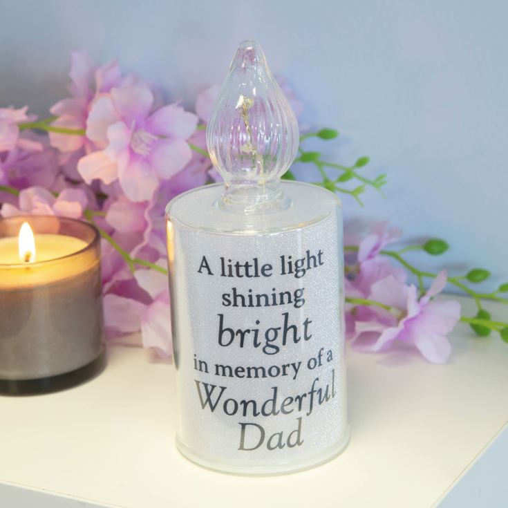 Thoughts Of You Memorial Candle Light - Dad product image