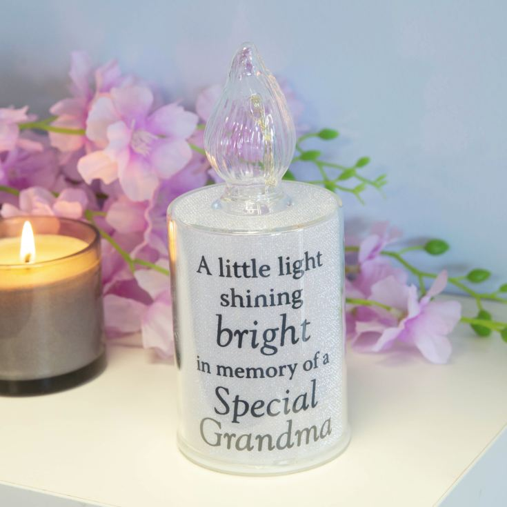 Thoughts Of You Memorial Candle Light - Grandma product image