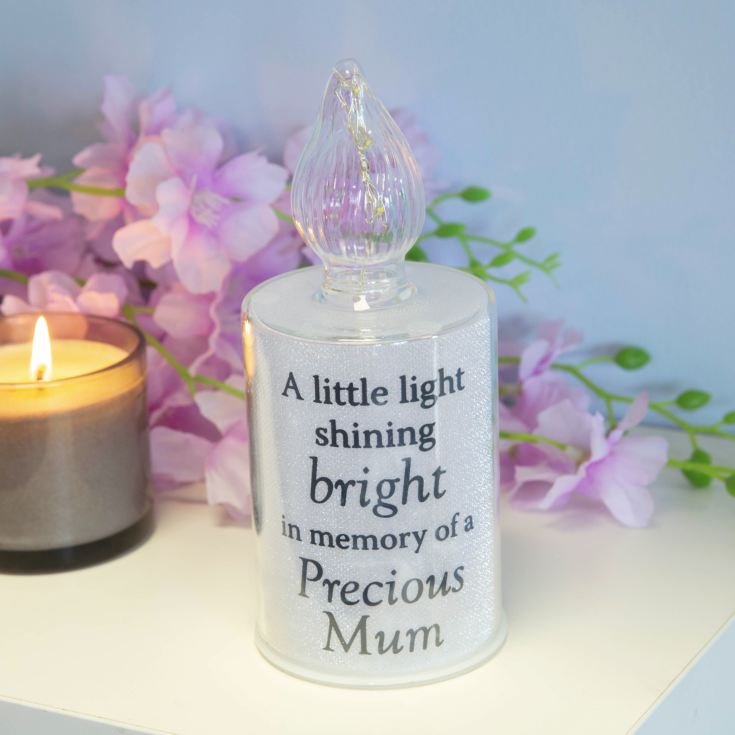 Thoughts Of You Memorial Candle Light - Mum product image
