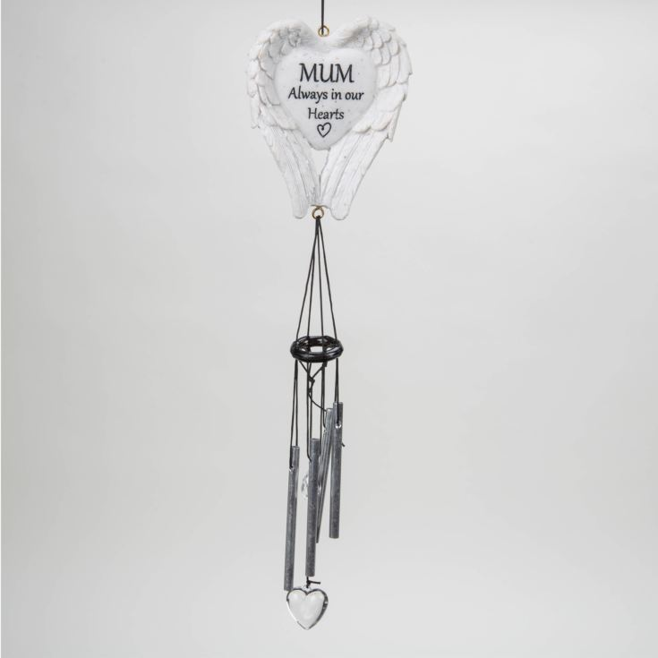 Thoughts Of You Graveside Wings Windchime - Mum product image