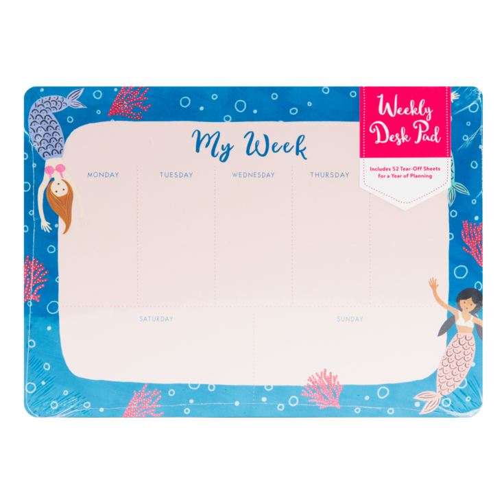 Studio Oh! Mermaid Tales Weekly Desk Pad product image