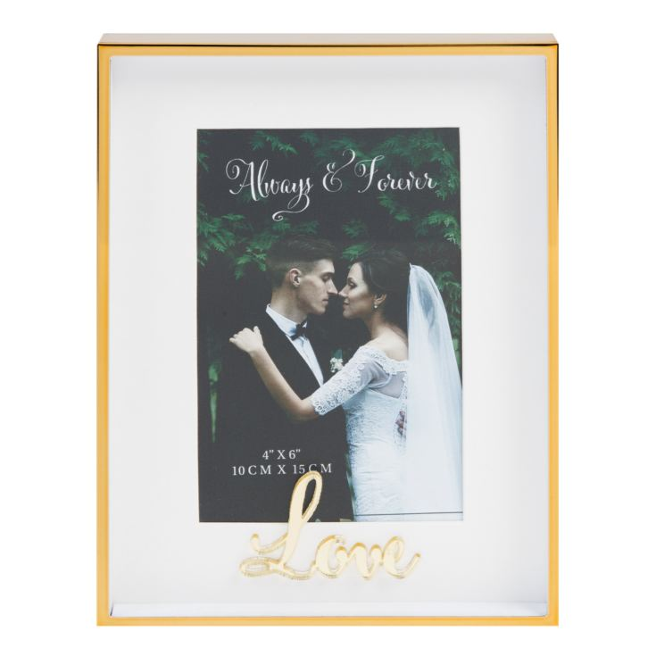 "4"" x 6"" - Always & Forever Photo Frame - Love product image"