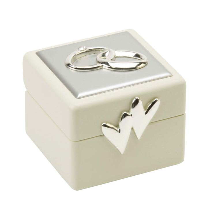 AMORE BY JULIANA® Wedding Ring Box product image
