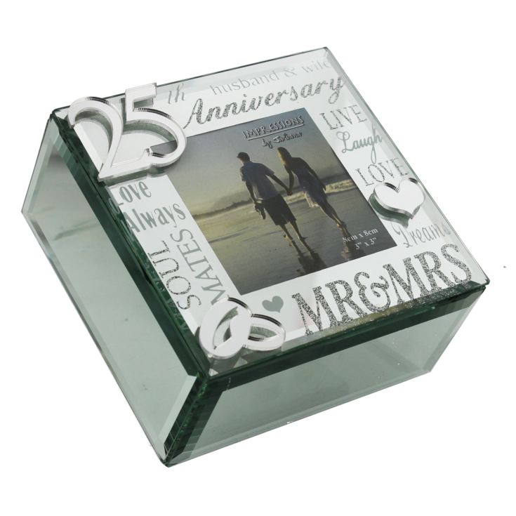 Mirrored Trinket Box - 25th Anniversary product image