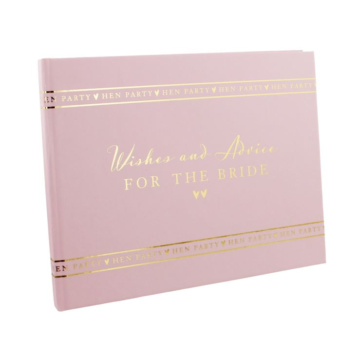 AMORE BY JULIANA® Hen Party Guest Book - Wishes & Advice product image