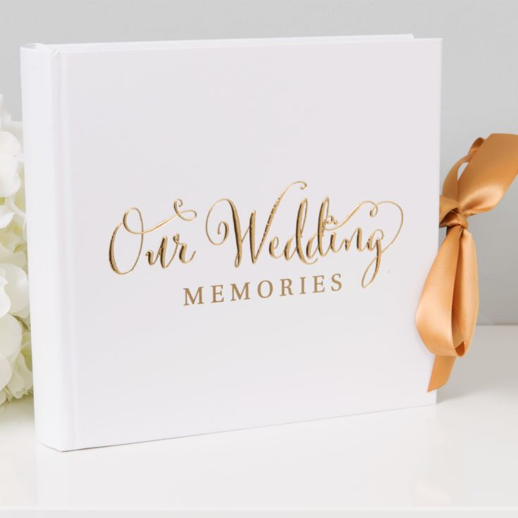Juliana Always & Forever Gold Foil Photo Album - Our Wedding product image
