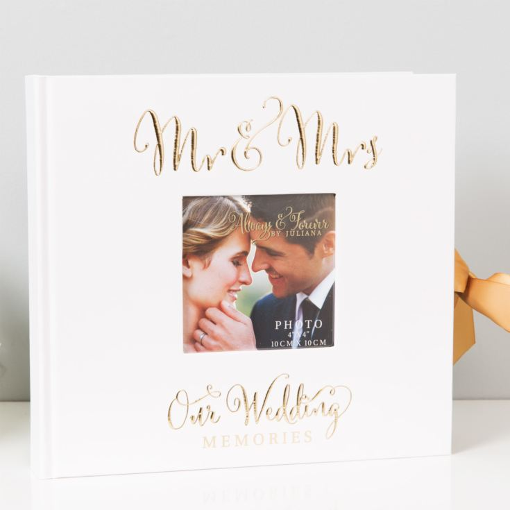 Juliana Always & Forever Mr & Mrs Photo Album product image