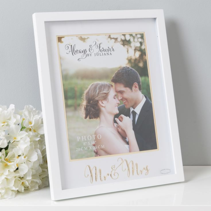 "8"" x 10"" - Always & Forever Photo Frame - Mr & Mrs product image"
