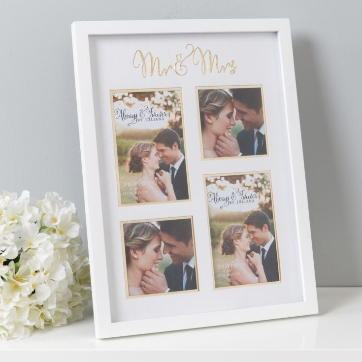 Juliana Always & Forever Mr & Mrs Collage Frame product image