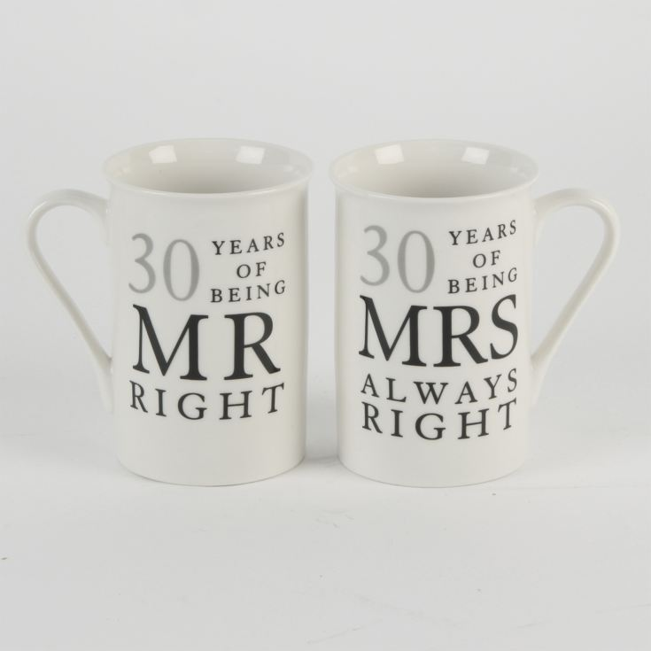 Amore Gift Set - 30 Years Mr Right/Mrs Always Right product image