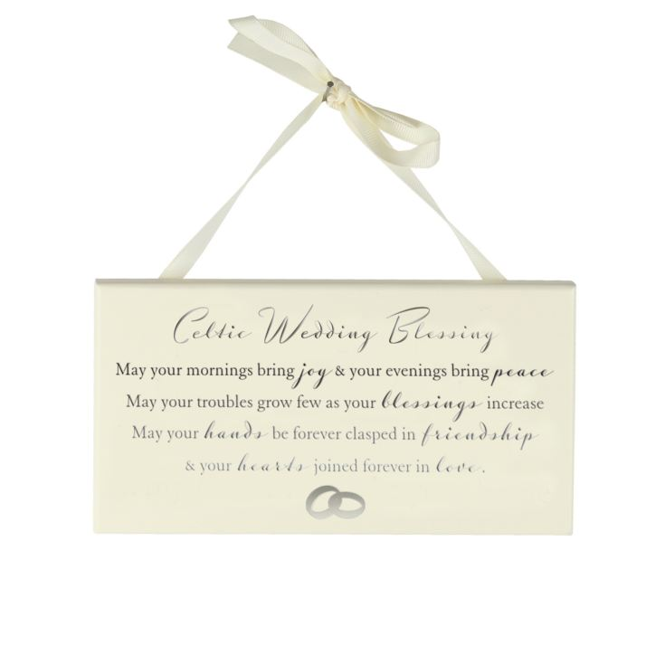 Amore Hanging Plaque - Celtic Wedding Blessing product image