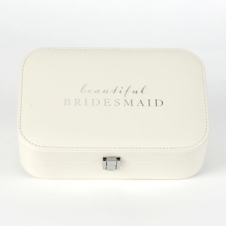 AMORE BY JULIANA® Leatherette Jewellery Box - Bridesmaid product image