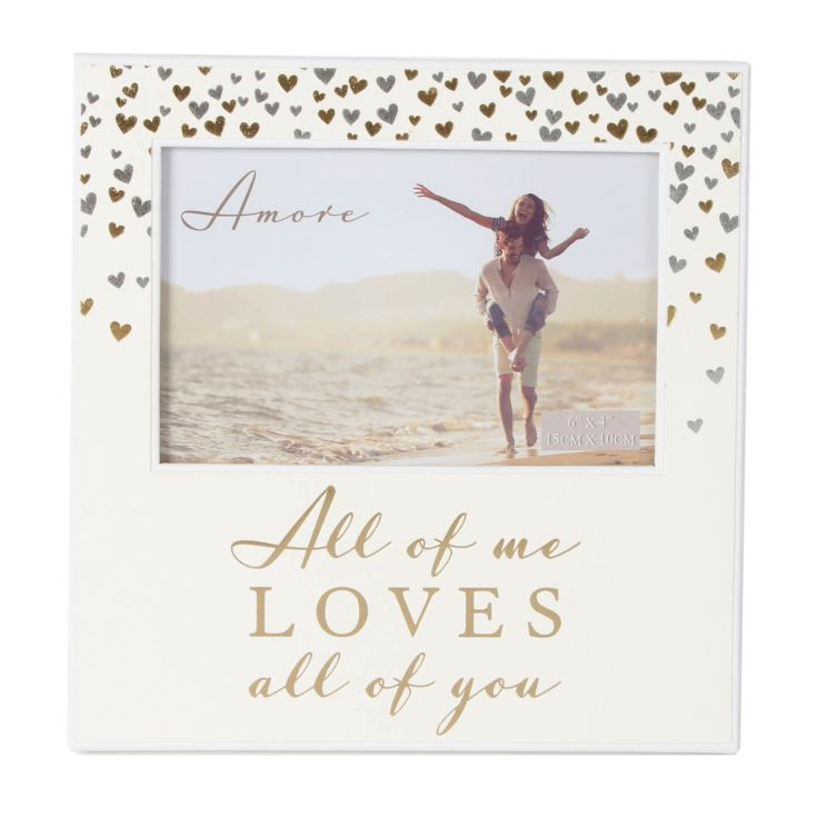 "6"" x 4"" - Amore Paperwrap Photo Frame All of Me product image"