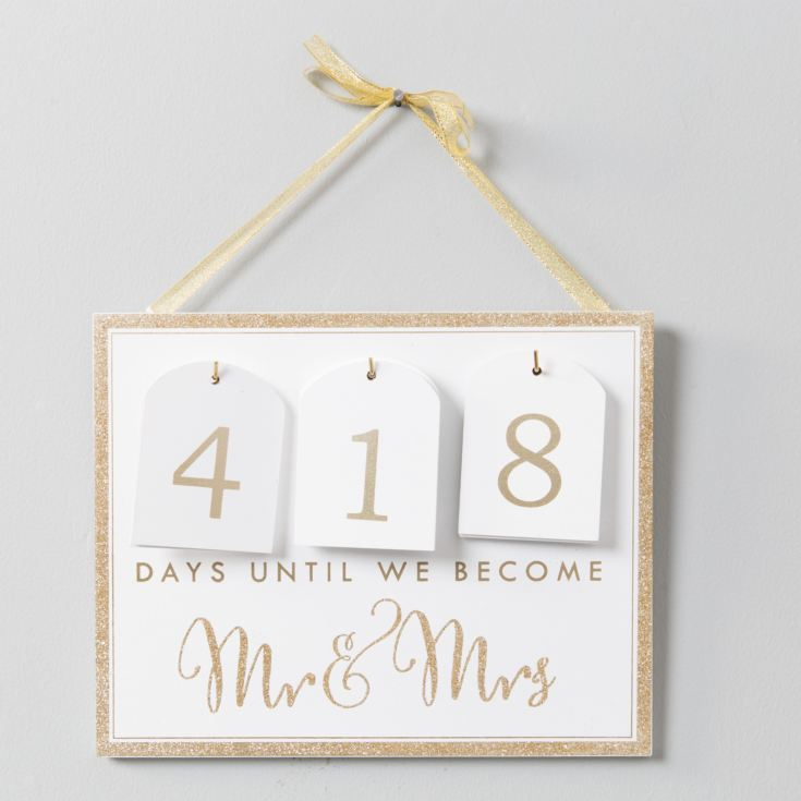 Always & Forever Countdown Calendar To Wedding product image