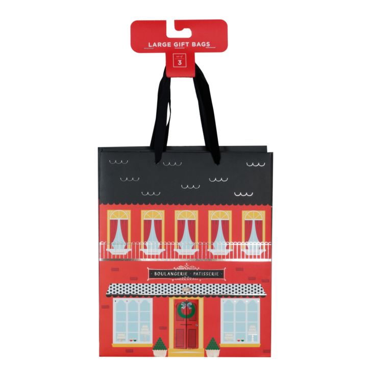 Holiday House Set of 3 Medium Gift Bags - 32x26.5cm product image