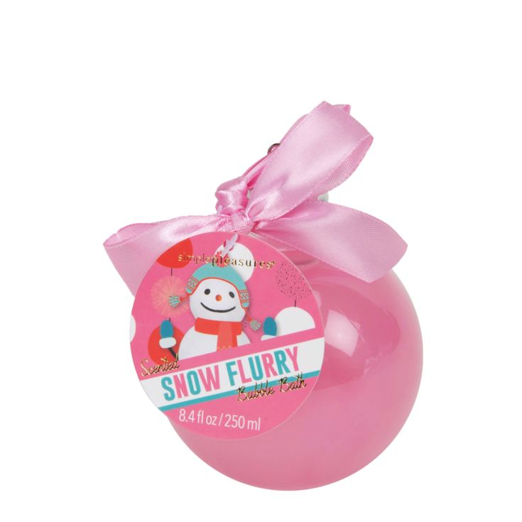 Pink Glitter Bauble Shower Gel product image