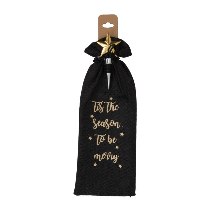Starry Nights Wine Bag with Stopper product image