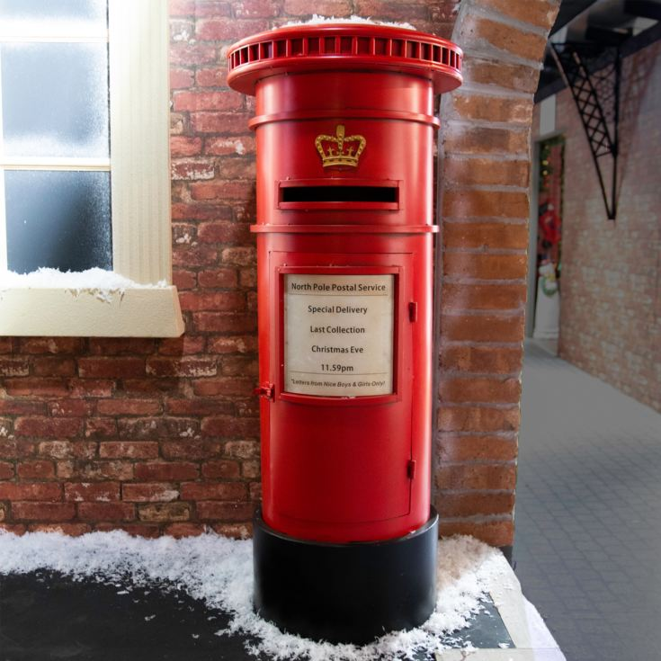 Red Post Box - Santa Mail product image