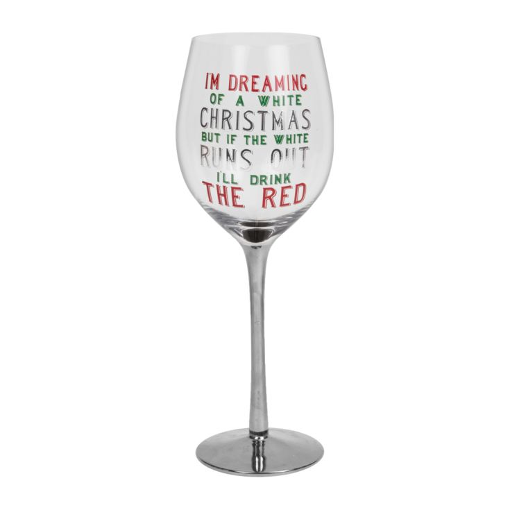 If The White Runs Out I'll Drink The Red Wine Glass product image