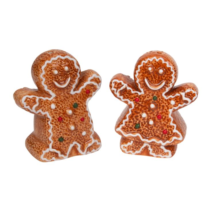 Gingerbread Couple Salt & Pepper Shakers product image