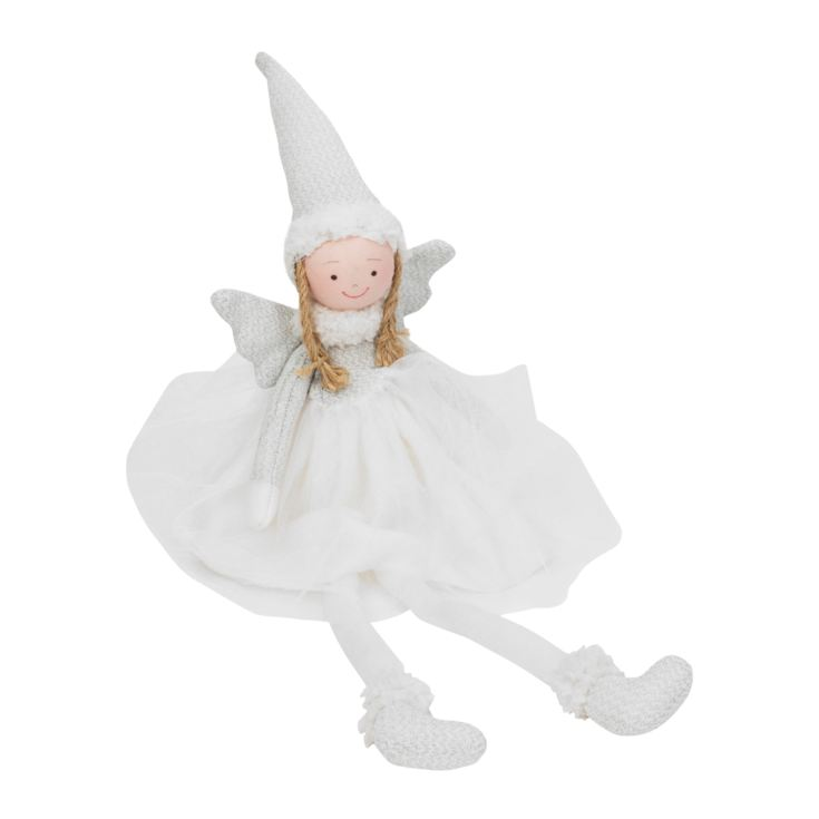 Fairy Queen White Plush Angel product image