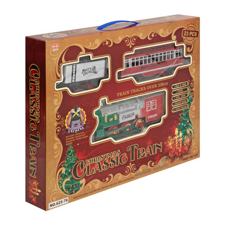 Light Up Train and Track Real Steam Engine & Sound - Medium product image