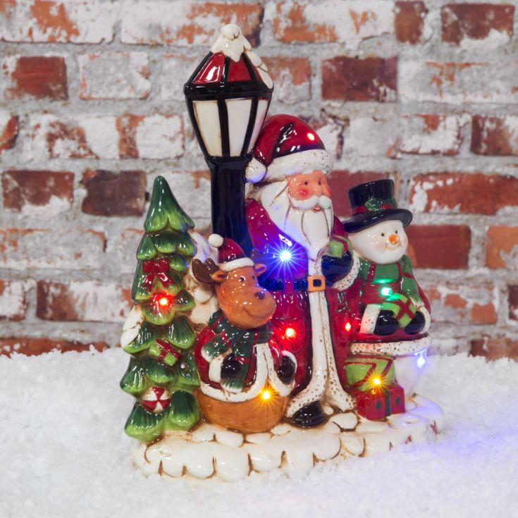 Light Up LED Christmas Scene with Music product image