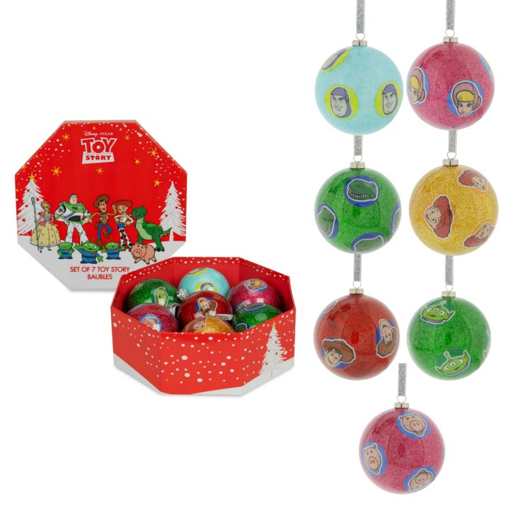 Disney Toy Story Set of 7 Baubles product image