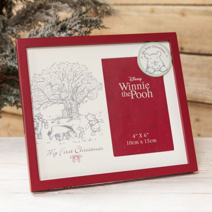 Disney Baby's First Christmas Photo Frame - Winnie the Pooh product image