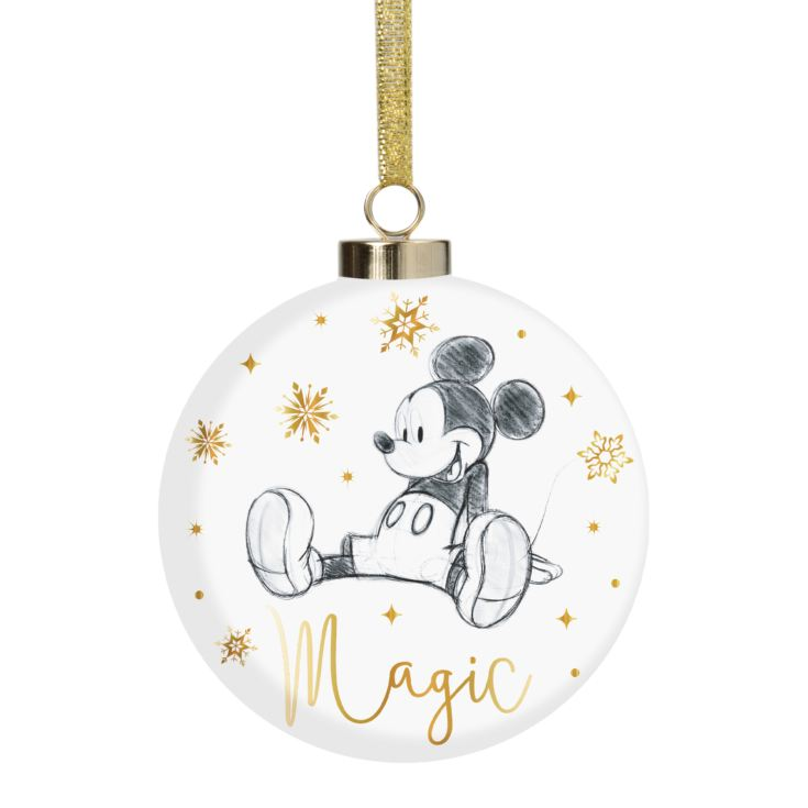 Disney Classic Collectables Luxury Ceramic Bauble - Mickey product image