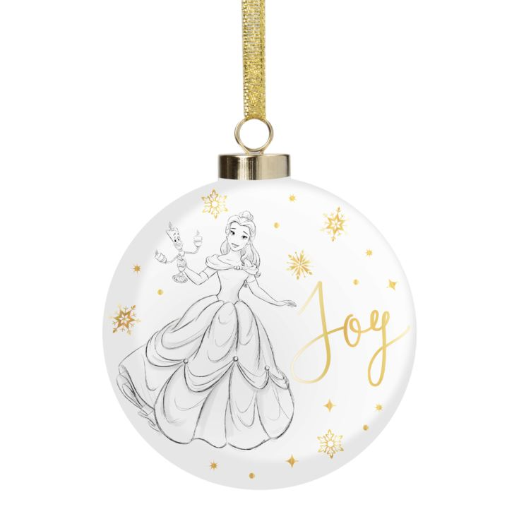 Disney Classic Collectables Luxury Ceramic Bauble - Belle product image