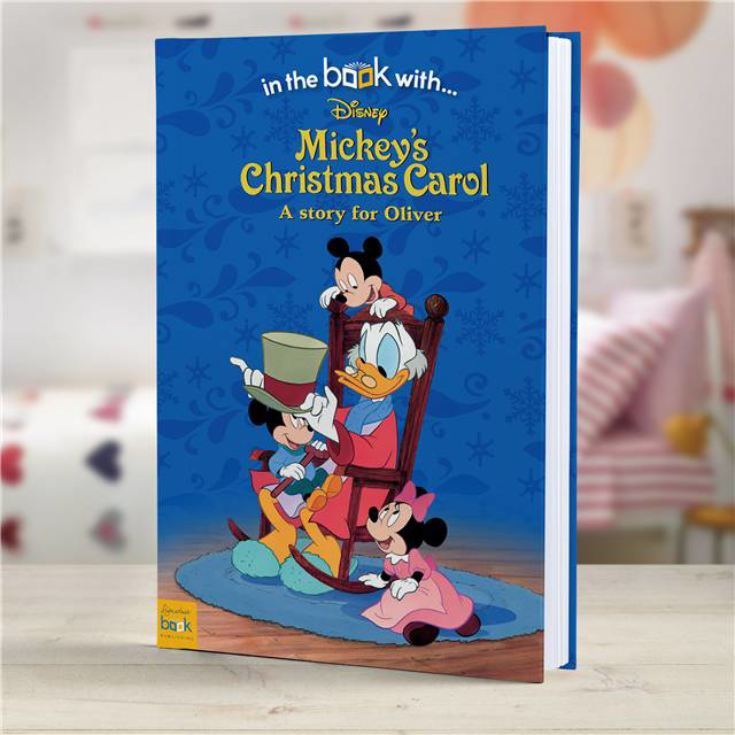 Personalised Mickey's Christmas Carol Disney Book product image