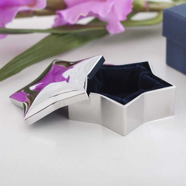 Personalised Star Shaped Trinket Box product image