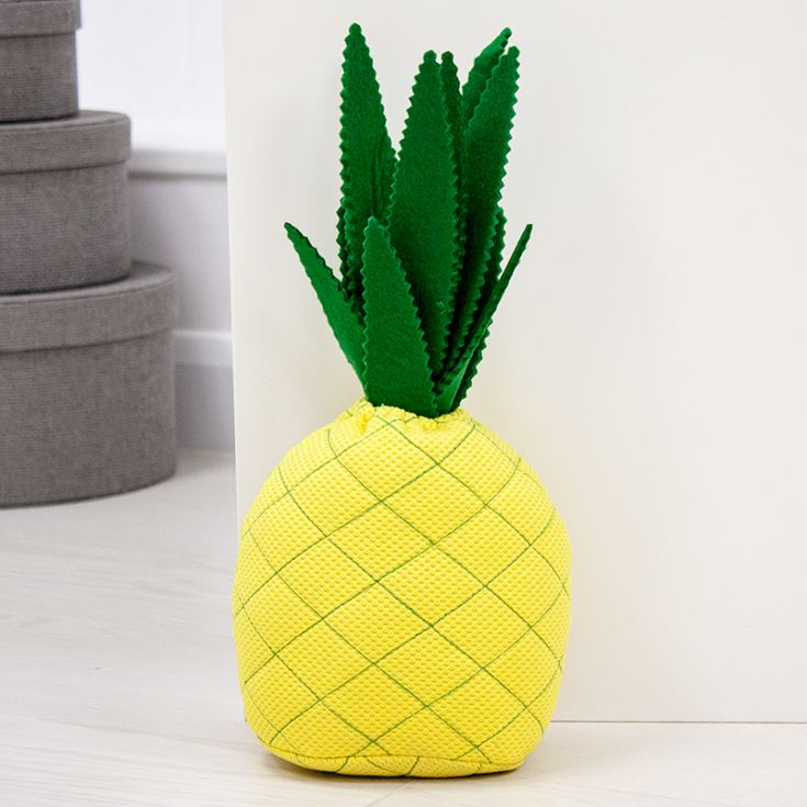 Fabric Pineapple Doorstop The Gift Experience