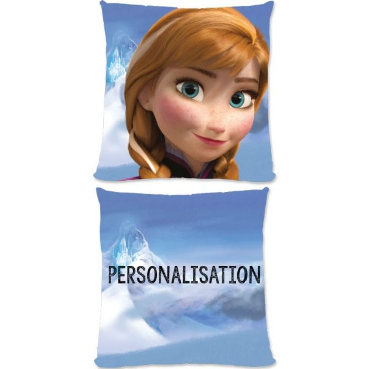 Personalised Disney Frozen Anna Small Cushion product image