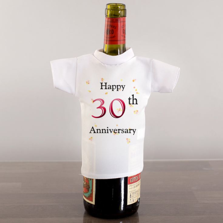 Anniversary Wine Bottle T-Shirt product image