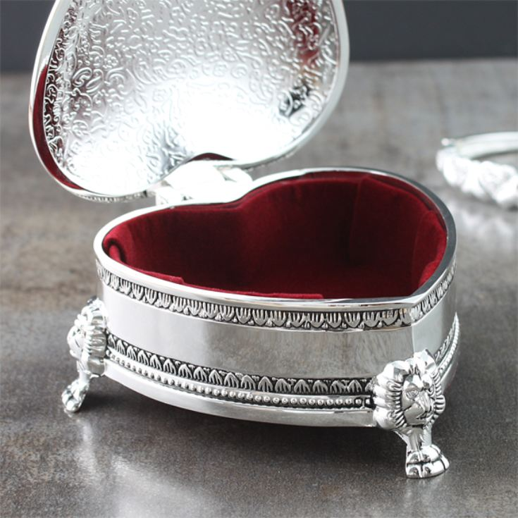 Antique Heart Trinket Box product image