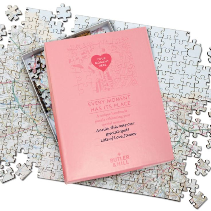 Valentines Day Gift - Where We First Met Personalised Jigsaw product image