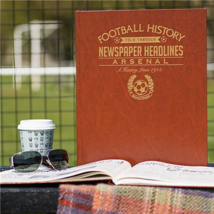 Personalised Arsenal Football Book product image