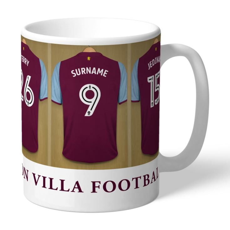 Personalised Aston Villa FC Dressing Room Mug product image