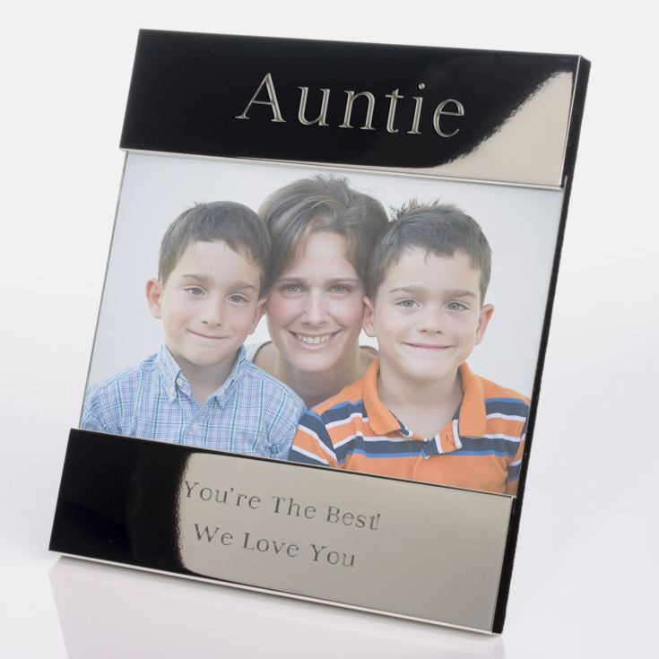 Engraved Auntie Photo Frame product image