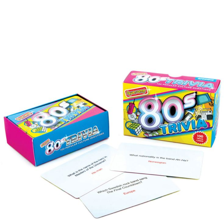 Awesome 80s Trivia Cards product image