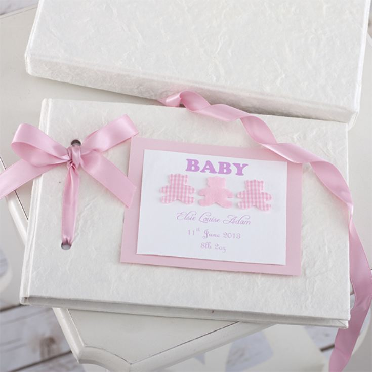 Personalised Handmade Baby Album product image