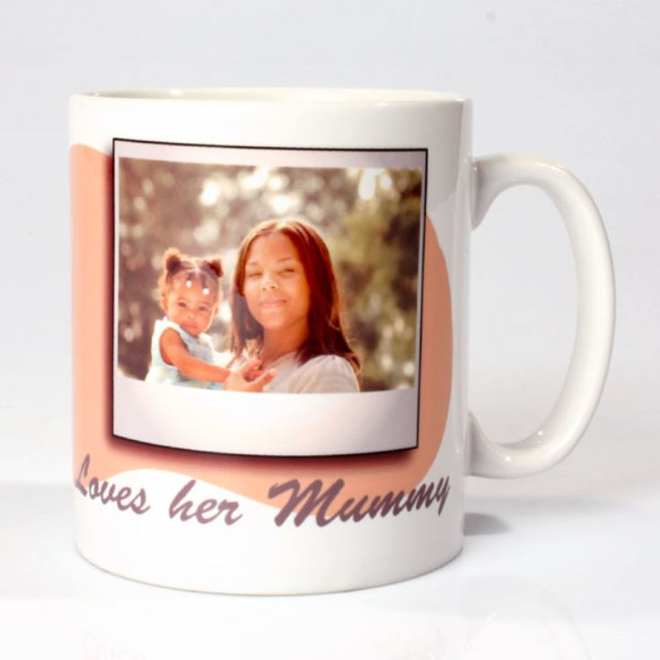 Personalised Baby Girl Photo Mug product image
