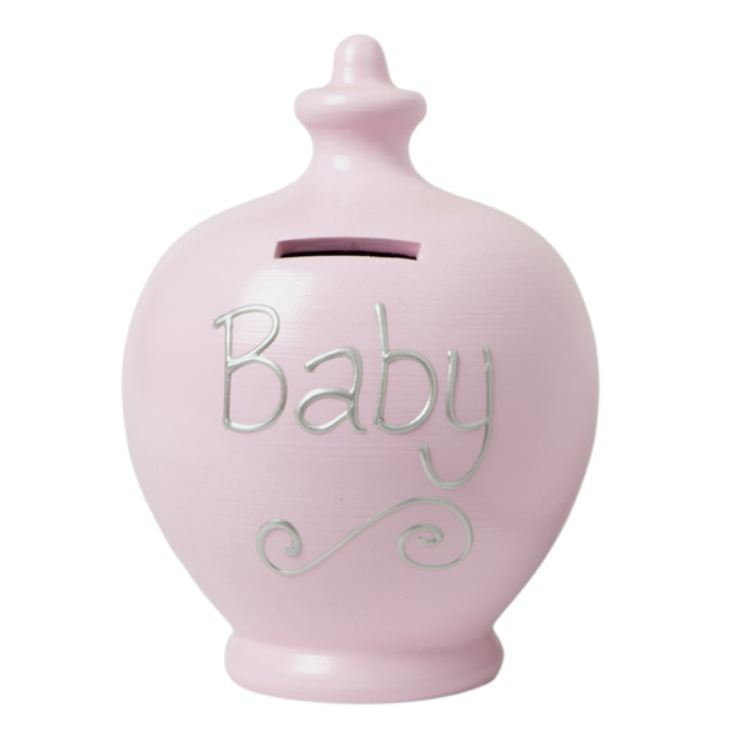 Baby Personalised Terramundi Money Pot product image