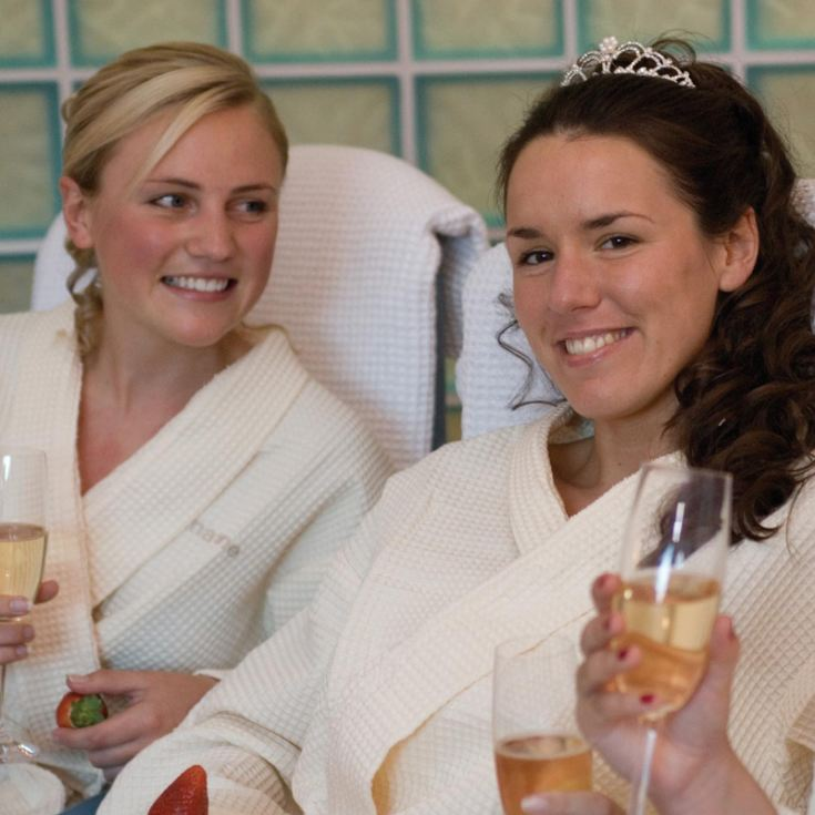 Bannatyne Premium Spa Day with 25 Minute Treatment, Lunch and Prosecco for Two product image