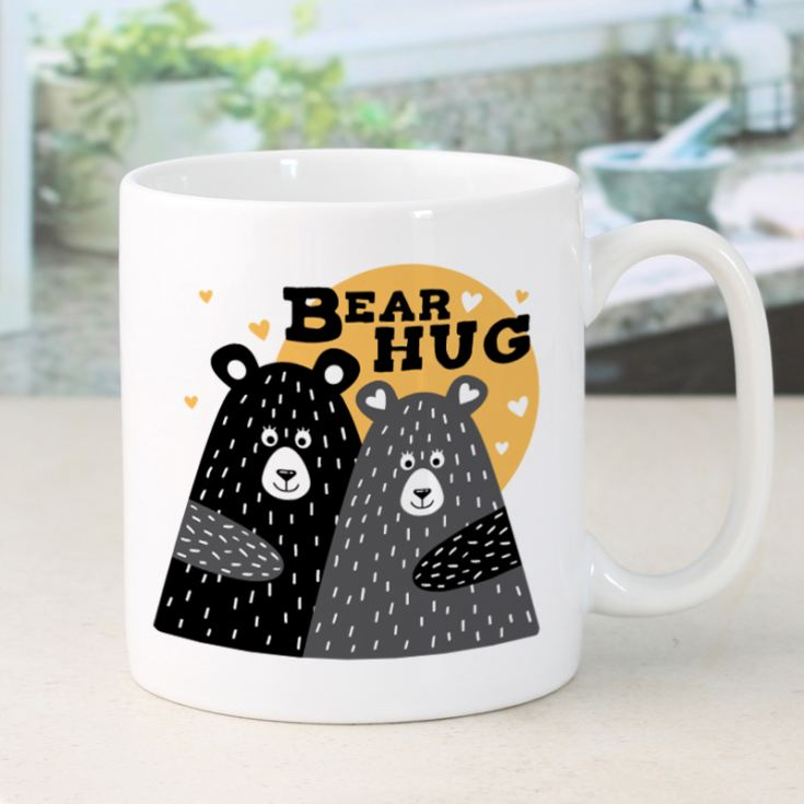 Personalised Bear Hug Mug product image