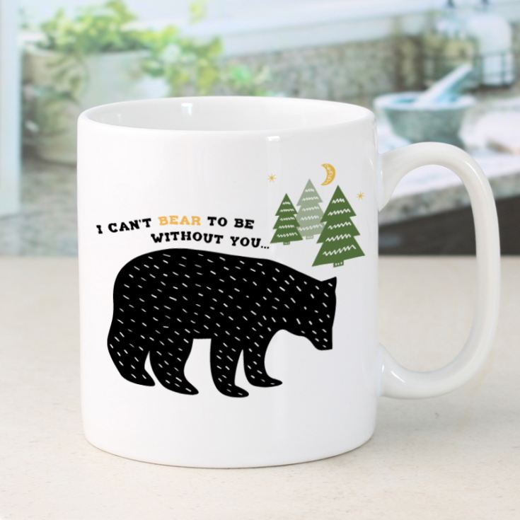 Personalised I Can't Bear To Be Without You Mug product image