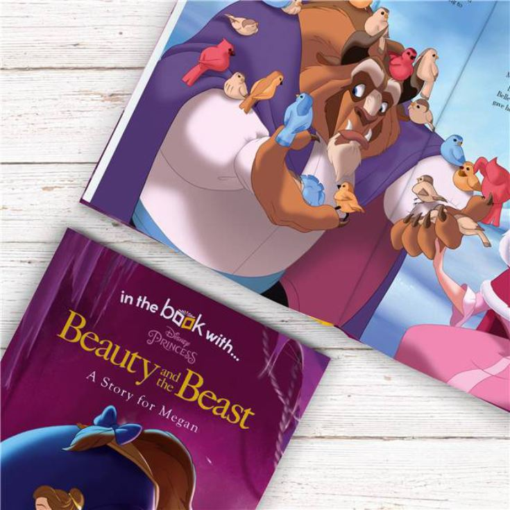 Personalised Beauty & the Beast Disney Book product image
